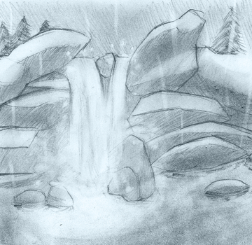 Arena_Sawmill - Waterfall by 66VI