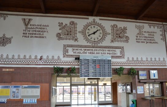 Train Station Clock by frolka