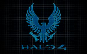 Halo Spartan Eagle Logo Wallpaper by DisturbedShifty