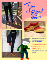 john egbert cosplay shoes by ilovezimandgir123