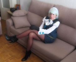 Franziska von Karma cosplay by StudioKawaii