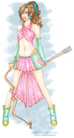 Cupid Girl by Shinou Colored by chesney