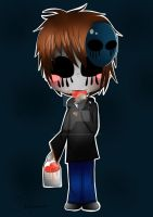 Eyeless Jack Yummy! *Friend's Request* by Shootingsmashstar