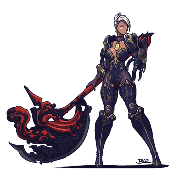 Blade and Soul: Destroyer by Blazbaros