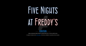 Five Nights at Freddy's fan site - concept 1 by MechaAshura20