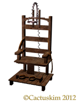The Chair KL_PNG Electric Chair by cactuskim