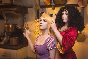 Disney Tangled - Rapunzel and Mother Gothel 4 by KiaraBerry