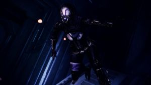 Tali'Zorah vas Normandy 17 by johntesh