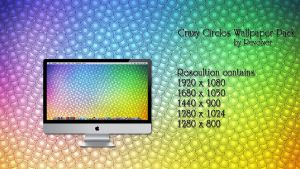 Crazy Circles Wallpaper Pack by revolver0067
