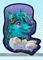 BlueKoinu ConBadge by bluekoinu