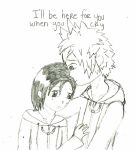 I'll be Here -sketch- by MrsZeldaLink