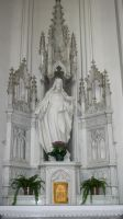 Denver Cathedral Statue 14 by Falln-Stock
