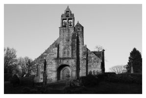 Old Church in Bretagne Breizh by Abaradake