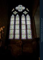 Stained Glass Window I by kuschelirmel-stock