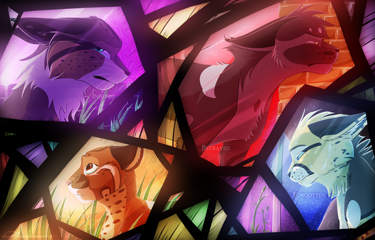Four Shards by FeatheredSeclude