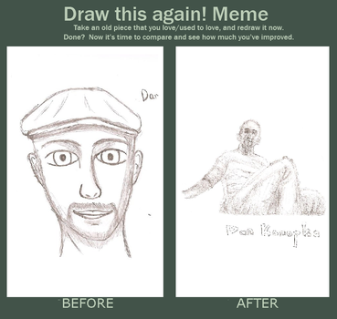 before after meme with dan by mixlemaxle
