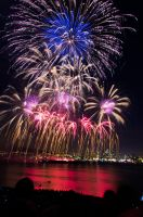 Gasworks Fireworks 1 by draxxion
