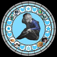 KH Jack Frost Stained Glass by YukoKeiko