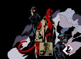 HellBoy PS by MarkHammil87