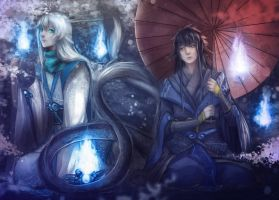 CE:Light in the forest by Ichi-14