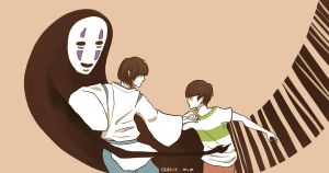 baekyeol - spirited away by minvisible