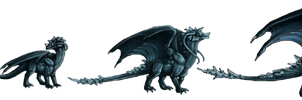 Ice Dragon_NWD by ulven-f