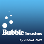 Bubble Brushes by cloud-no9