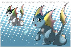 Baby Vaporeon Entry by Cachomon