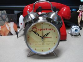 Aperture 70's Twin-Bell Lighted Alarm Clock by ChrisInVT