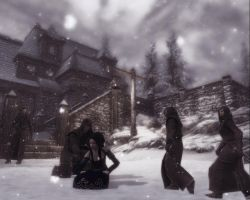 A Night at the Thalmor Embassy by Lesliewifeofbath