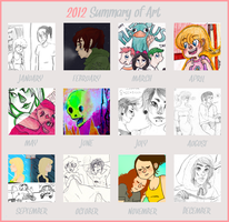 Summary of Art 2012 by OsoDeClare