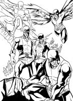 Sdcc 2013 Inks by FireClerk12