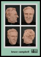 bruce campbell clay head by verstorbene