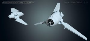 Type 7B - Prowler Shuttle by LordSarvain
