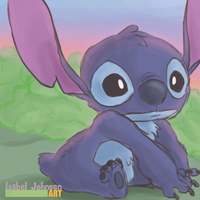Stitch Doodle by issabissabel