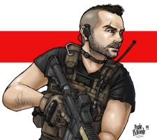 Soap MacTavish M.W.2 by Masque-De-Mort