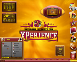 Washington RedSkins Desktop by a666a