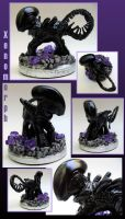 Xenomorph Dark Star by customlpvalley