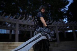 Final Fantasy versus XIII Noctis - Night of Somnus by snow0storm