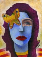 Madame Butterfly by gizophrenia