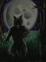 Scottish Werewolf? by pie-lord
