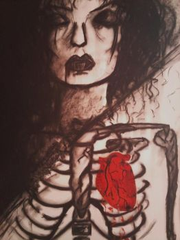 My Vampire Heart by earth-bound-angel
