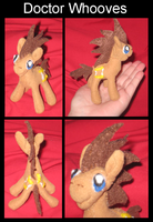 Doctor Whooves small plushie by digitaldevotion101