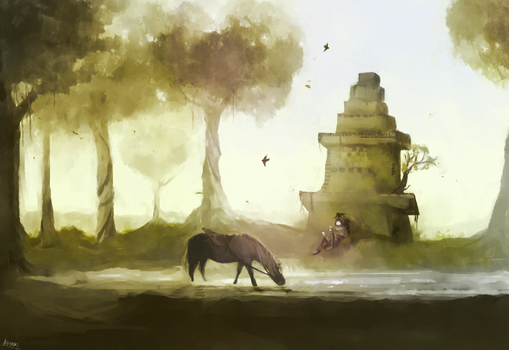 The Wanderer by ippotsk
