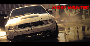 Need For Speed Most Wanted Cinematic Wallpaper by BstonesDesigns