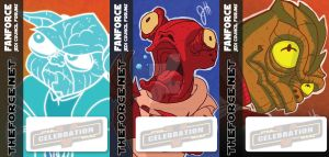 Star Wars - Character Badges by JoeHoganArt