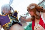 FF9 - Kuja vs Beatrix by Zetra