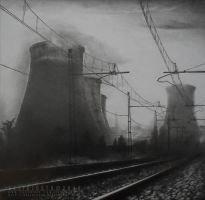 Rails and Towers [#] by VelioJosto