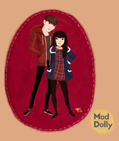 Amy He of Mod Dolly by KathrynWilkins