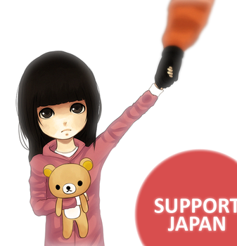 Support Japan by MeTaa